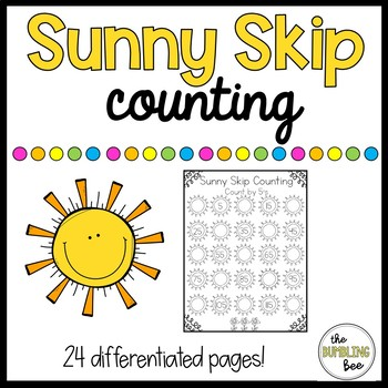 Differentiated Skip Counting Practice (No Prep!!!)