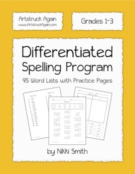 Differentiated Spelling Program - Google Sorts