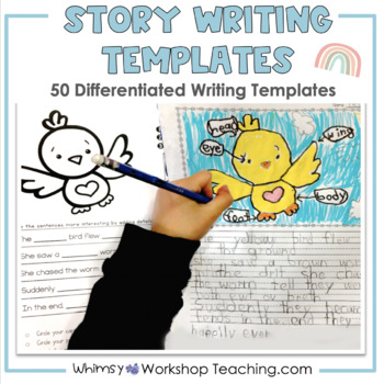 Differentiated Story Writing Templates