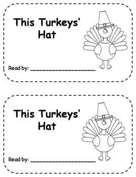 Differentiated Turkey Emergent Readers