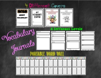 Differentiated Vocabulary Journals
