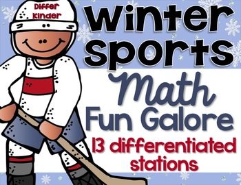 Differentiated Winter Sports Math Stations Galore - 13 Ali