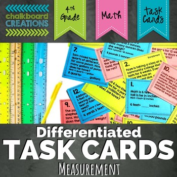 Differentiated Word Problem Task Cards: Relative Sizes of