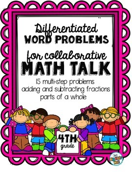 Differentiated Word Problems: Adding, Subtracting, & Multi