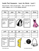 Differentiated Word Work & Vocabulary Packet - Double Consonants