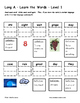 Differentiated Word Work & Vocabulary Packet - Long A