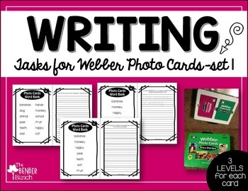 Differentiated Writing Tasks Set 1 {for use with Webber Ph