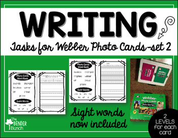 Differentiated Writing Tasks Set 2 {for use with Webber Ph