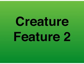 Differentiation: Creature Feature 2 (9 additional animals)