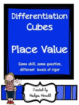 Differentiation Cube- Place Value