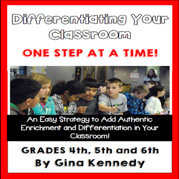 Differentiation: Start Adding Enrichment To Your Classroom