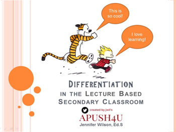 Differentiation in the Secondary Classroom