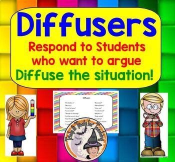 Diffusers Respond to Students who want to Argue Diffuse th