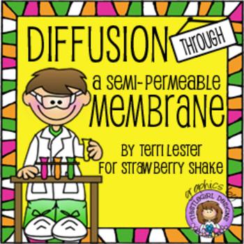 Diffusion Through a Semi-Permeable Membrane: Using Indicat