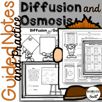 Diffusion and Osmosis Guided Notes and Practice