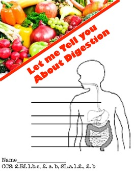 Digestion Booklet  - Common Core