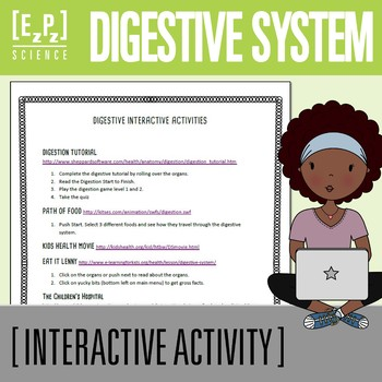 Digestive System Interactive Activities