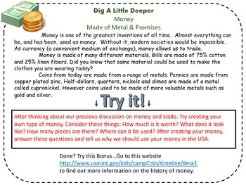 Digging Deep into Money