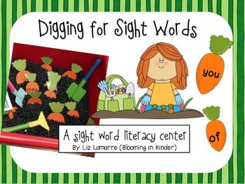 Digging for Sight Words