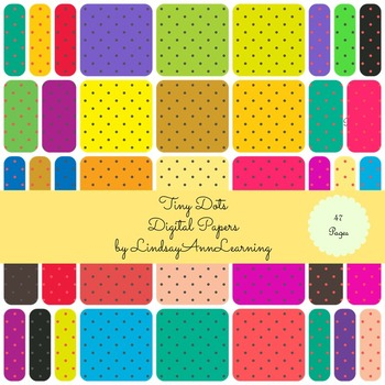 Simple Dots Digital Papers