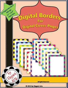 Digital Borders for Digital Cover Pages