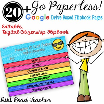 Digital Citizenship Drive Based Interactive Flipbook