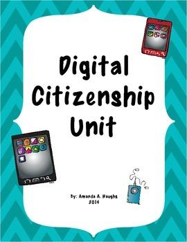 Digital Citizenship Unit & Worksheets