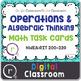 Digital Classroom Math Interventions or Test Prep Bundle R