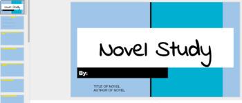 Digital Generic Novel Study