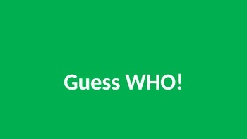 Digital Guess Who BETA TEST