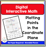 Algebra Digital Interactive Math Plotting Points in the Co