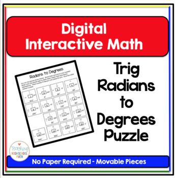 Trigonometry Digital Interactive Math Converting Degrees t