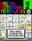 DIGITAL NOTEBOOK PAPERLESS TEMPLATES PERSONAL AND COMMERCI