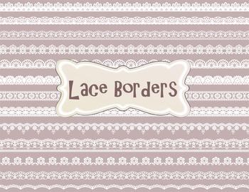 Digital Lace Doily Clip Art Digital Lace Border Clip Art D