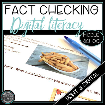 Digital Literacy How to Fact Check Information