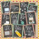 Digital Media Arts Cursive Alphabet {Vintage meets Modern Theme}