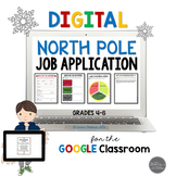 Digital North Pole Job Application Toolkit Common Core Aligned