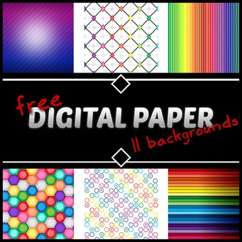 Digital Paper / Background Pack FREEBIE