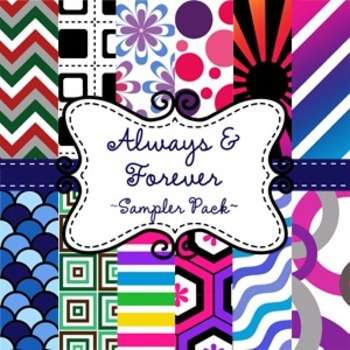 Digital Paper Background FREEBIE Sampler Pack