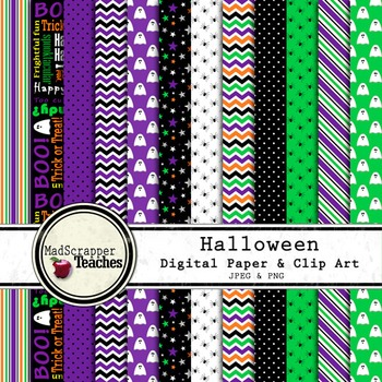 Digital Paper Background Halloween Purple and Black Paper