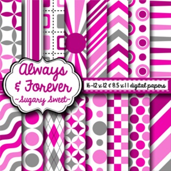 Digital Paper Sugary Sweet