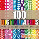 Digital Paper Bundle (100 Papers)