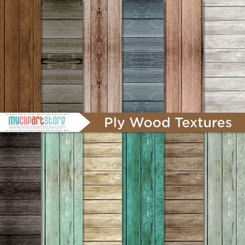 Digital Paper Texture - Distressed Ply Wood