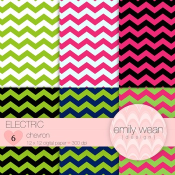 Electric - Digital Paper - Chevron