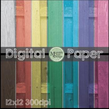 Digital Paper Fence Texture Pattern Backgrounds {Messare C
