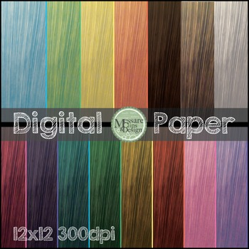 Digital Paper Woodgrain Background Texture {Messare Clips