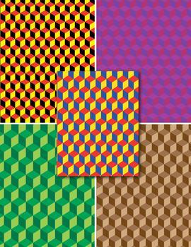 Digital Paper - Hexagons