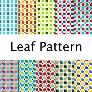 Digital Paper - Leaf Pattern