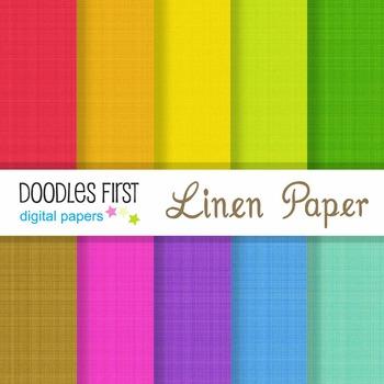 Digital Paper - Linen Texture great for Classroom art projects