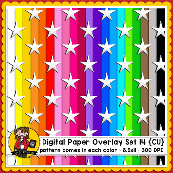 Digital Paper Overlays 14 {Paper Overlays for CU}